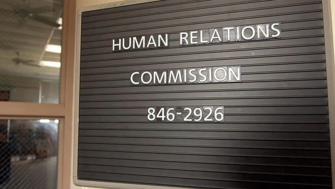 Monday, March 19, 2018--The Human Relations Commission operates out of a room rented from West York Borough. The room is in the West York Municipal building. Bill Kalina photo