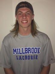 Ryan Olmstead, Millbrook boys lacrosse