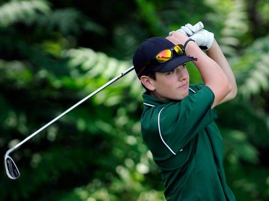 Spackenkill High School's Erik Stauderman is the defending Dutchess County Golf Coaches Invitational champion.