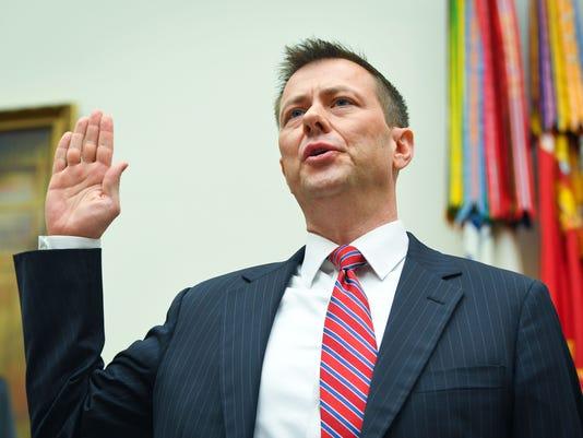 USP NEWS: PETER STRZOK TESTIFIES A USA DC