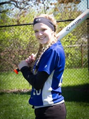 Jessica Meinking of Reading is a DIII co-player of the year.