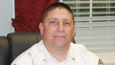 Travis Riggs, new Pickens police chief