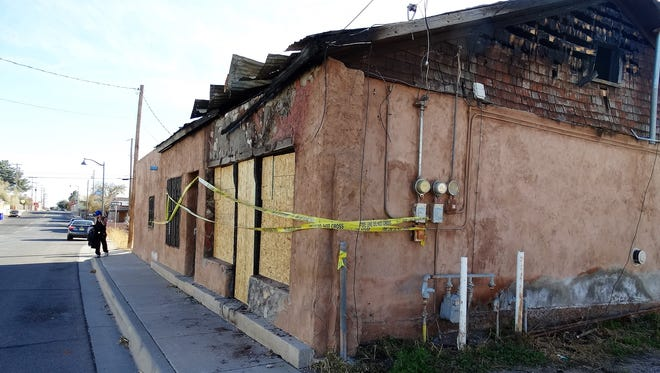 In December 2016, the city created a task force to look into abandoned properties, such as this one in the 600 block of Mesquite Street. On Monday, July 17, 2017, the city announced changes to its nuisance ordinance in regard to abandoned buildings.