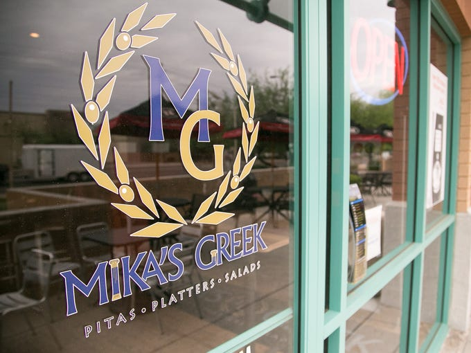 Mika's Greek restaurant in Tempe on September 10, 2015.