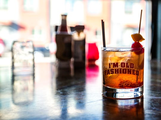 An old school old fashioned at Drink Winsconsinbly in Milwaukee, Wis., on Monday, September 25, 2017.