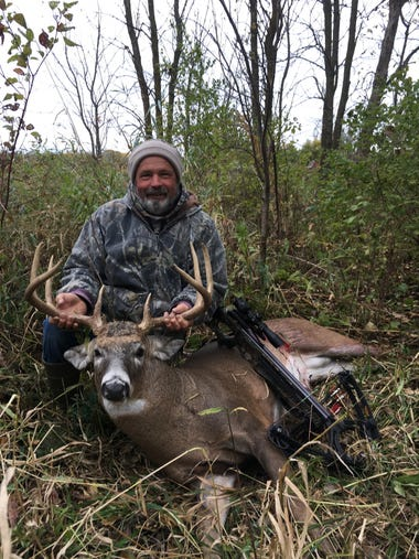 Bill Wagner, of Fond du Lac, shot this more-than-200-pound