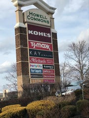 Howell Commons is a shopping center on Route 9.