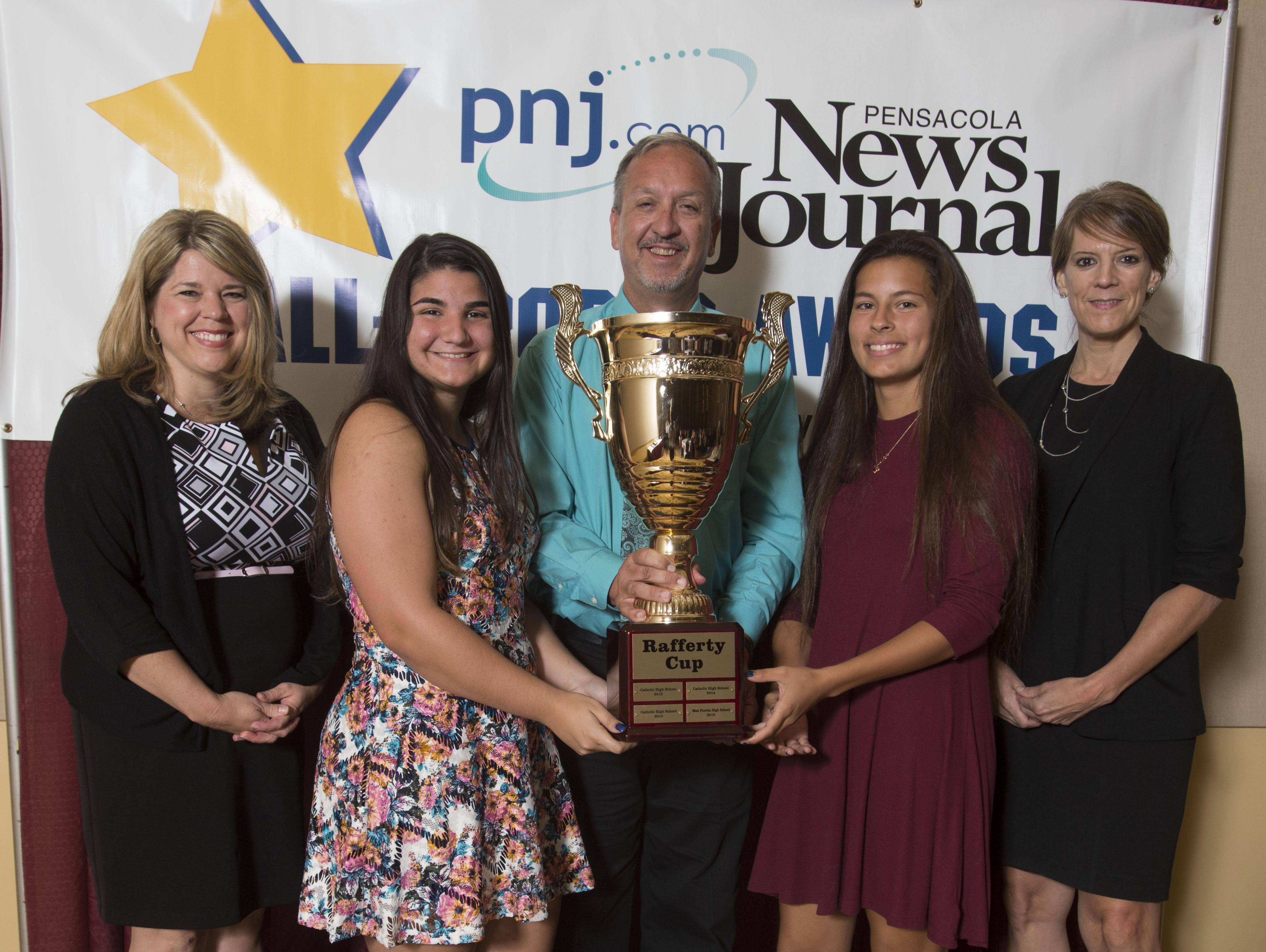 Scenes from the Pensacola News Journal All-Sport Awards Banquet Wednesday night.