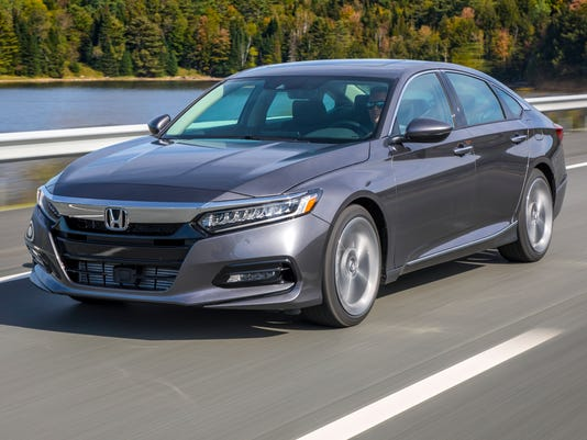 Detroit Auto Show Honda Accord Wins North American Car Of The Year