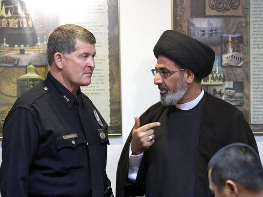 Michael Downing,Sayed Moustafa al-Qazwini