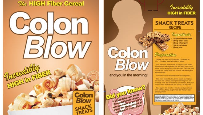 Thanks to It'Sugar, 'SNL' fans can now purchase a box of Colon Blow cereal. (Note: It's just granola.)