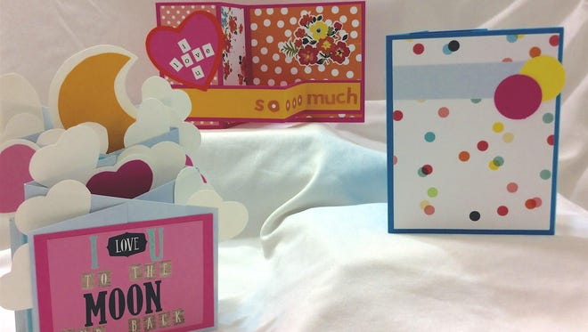 With some cardstock, glue and scissors, you can make your own valentine cards this year.