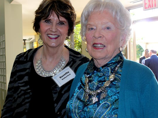 Suzette Rutherford and Anne Rutherford.