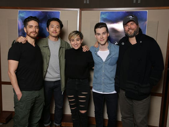 """The voice cast of """"Voltron: Legendary Defender"""": Josh"""