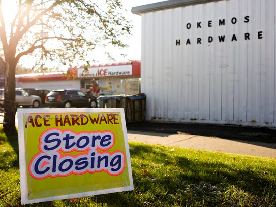The Okemos Ace Hardware will close its doors by the