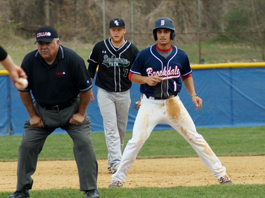 Brookdale's Al Molina (1), a Red Bank Catholic graduate, was named the Region XIX Player of the Year.