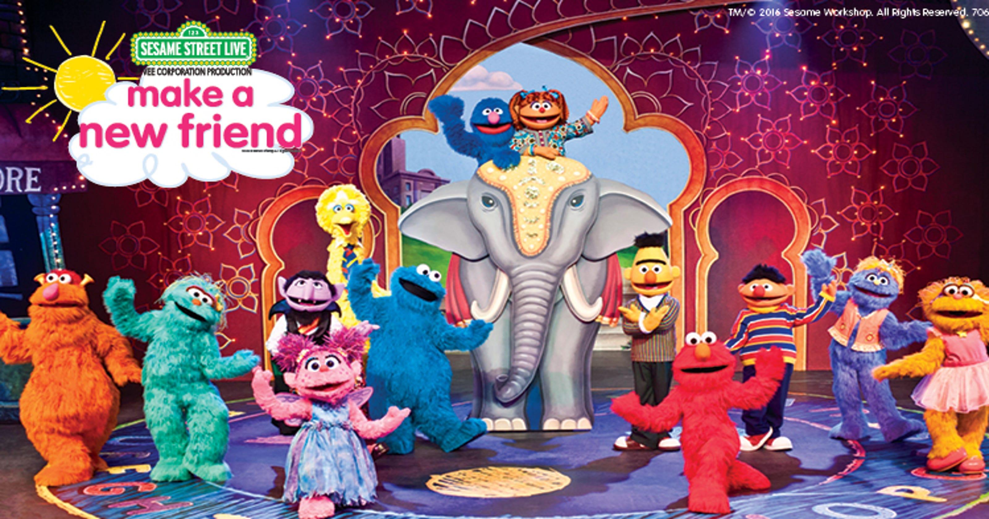 Elmo loves Phoenix: Tickets on sale Friday for 'Sesame