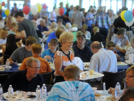 The Taste of Coshocton usually attracts 500 people and earns $5,000. This year's event will be Aug. 13 at Lake Park.