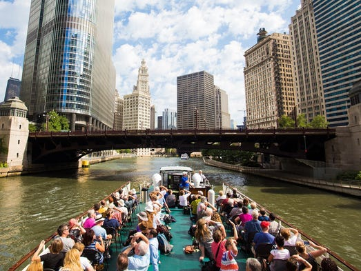 "Summer's the perfect time for exploring the USA by boat, and our readers have voted 10 winners into the top spots for ""Best U.S. Boat Ride."""