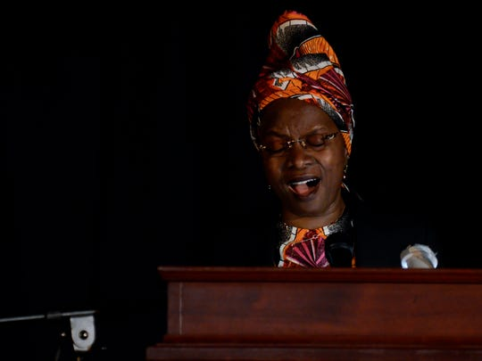 Grammy award-winning singer, social activist, and humanitarian Angélique Kidjo sang songs of hope to students, faculty, and guests at The Hun School of Princeton.
