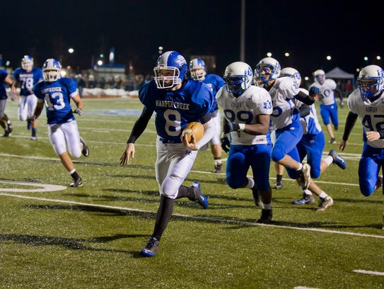In the 2011 Final Four,  Harper Creek lost to Orchard