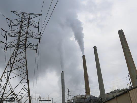 LG&E's Mill Creek power plant in southwest Louisville