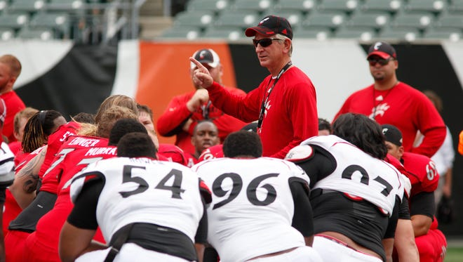 Bearcats head coach Tommy Tuberville isn't too happy about his team beginning the season late, but says it'll be water under the bridge soon.