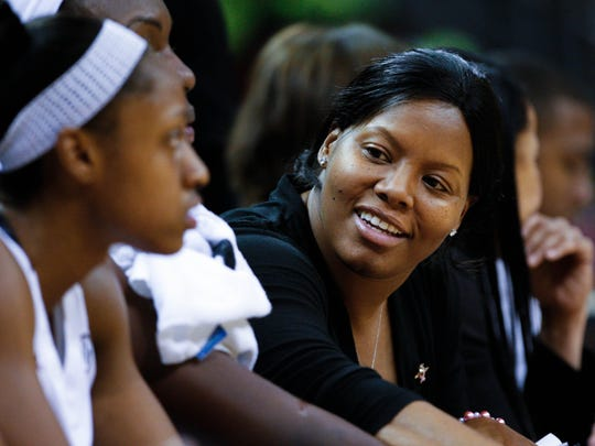 Nikki McCray is pictured here as an assistant at South Carolina.