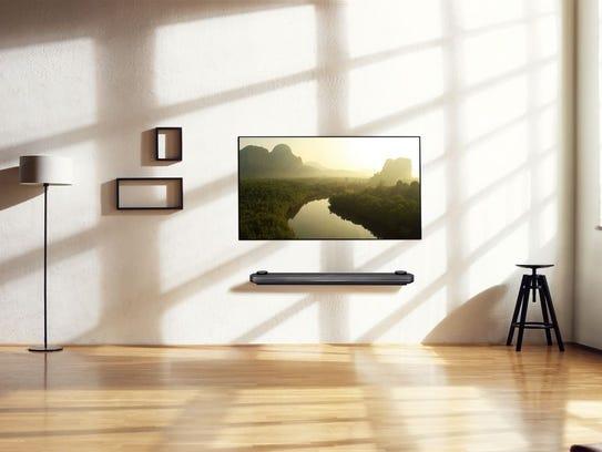 LG Electronics' 77-inch  Signature OLED TV W.