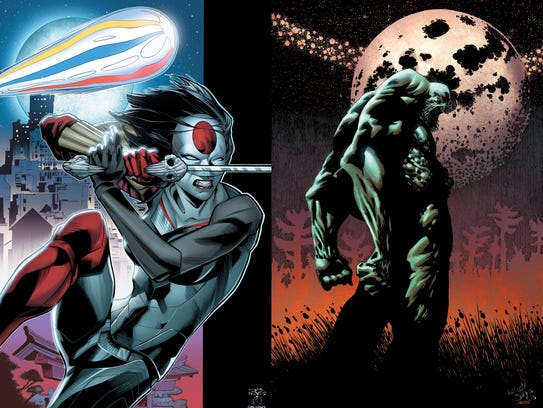 Katana and Swamp Thing are getting new stories from