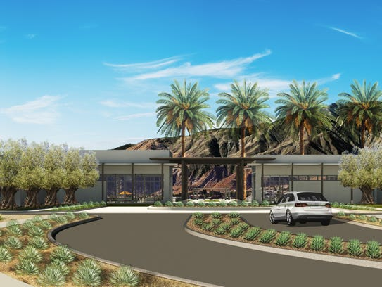 The entrance to Freehold Communities' Miralon development,
