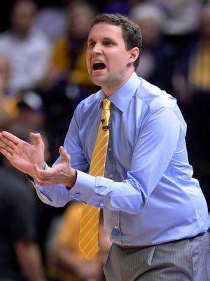LSU coach Will Wade