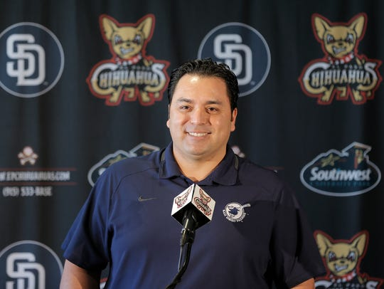 The El Paso Chihuahuas introduce their new Field Manager