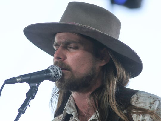 Apr 29, 2018; Indio, CA, USA; XXX Lukas Nelson & Promise of the Real at the Stagecoach Country Music Festival at Empire Polo Club. Mandatory Credit: Jay Calderon/The Desert Sun via USA TODAY NETWORK