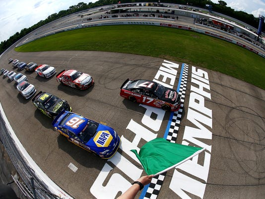 NASCAR K&N Pro Series East at Memphis International Speedway