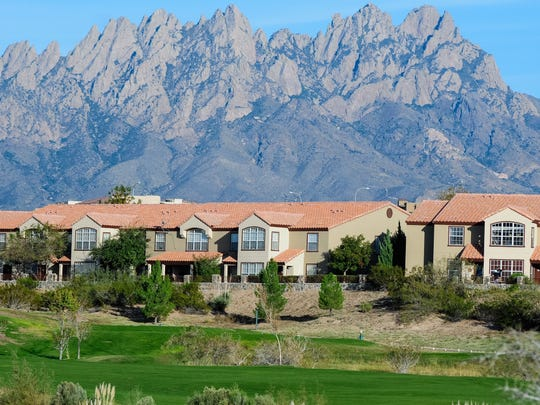 Casa de Soledad at Sonoma Ranch offer nice views of the Sonoma Ranch Golf Course and the Organ Mountains