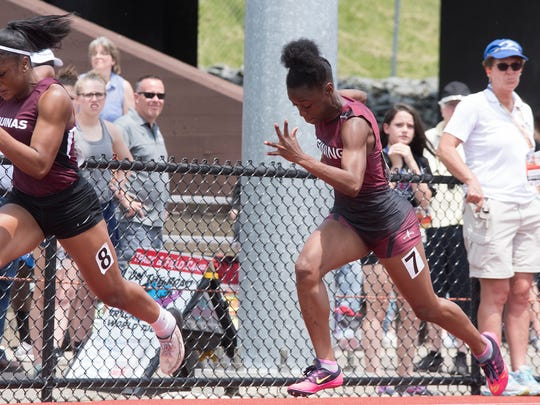 Ossining's Jhada Francis runs to fourth in the 100