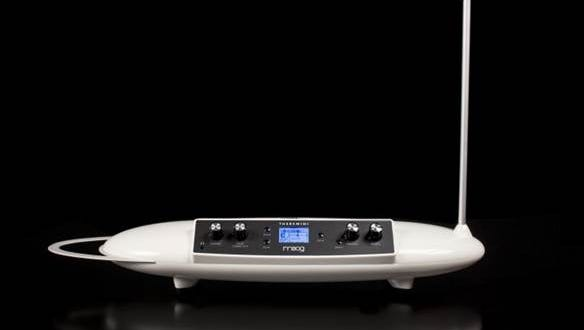 A Moog Music Theremini is one of the many items on the silent auction block at the Asheville GreenWorks Root Ball Nov. 12.
