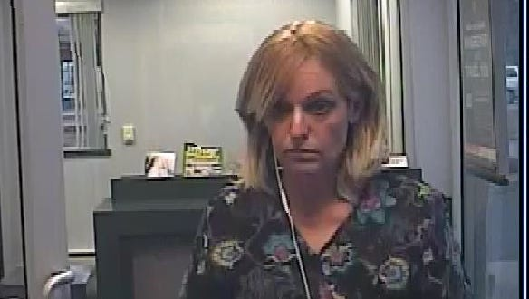 This woman is suspected in a string burglaries in Wall and elsewhere
