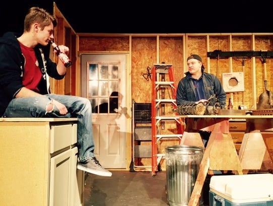"""Joey Wiedmeyer as """"Jimmy,"""" left, and Max Kroll as """"Warren"""""""