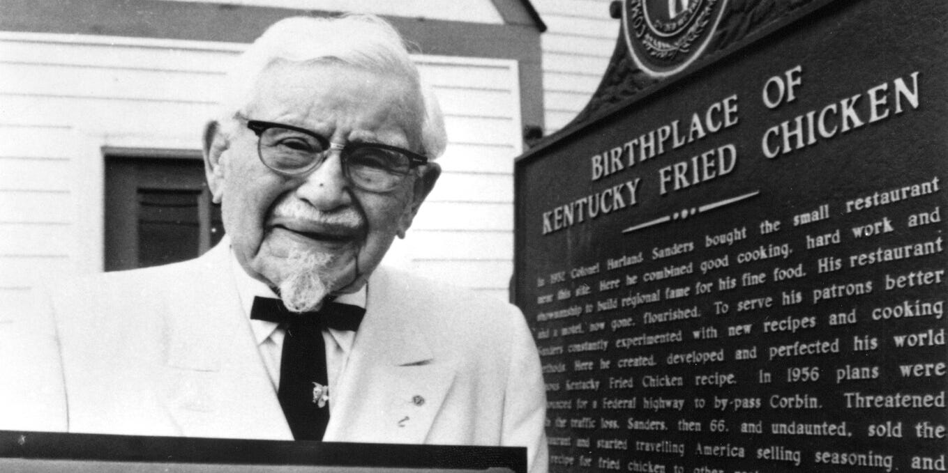 Papa John's n-word scandal: Was KFC's Colonel Sanders racist?