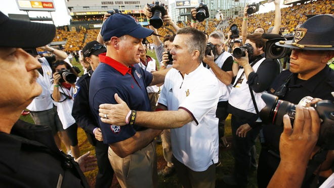 The Territorial Cup has to be among the college football games to watch this weekend, right?