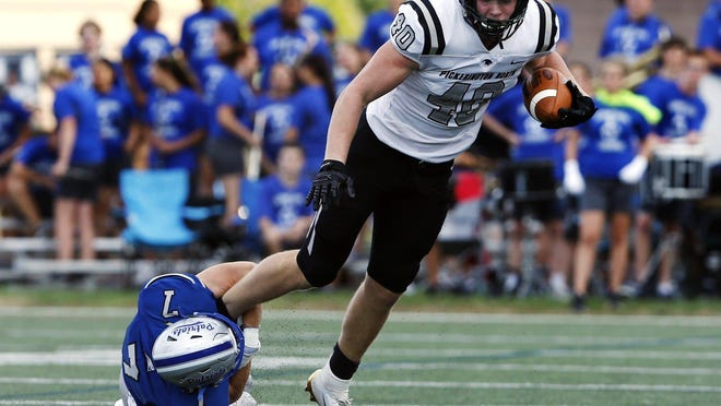 Jack Sawyer was a force on offense and defense for Pickerington North.