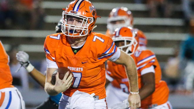 San Angelo Central High School senior quarterback Maverick McIvor is out for the rest of the season after injuring his knee against Del Rio last Friday.