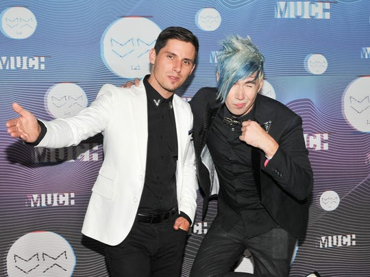 Canadian pop-rockers Marianas Trench will play Nov. 17 at the Meyer Theatre in Green Bay.