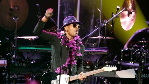 Mint Condition performs during a tribute concert honoring