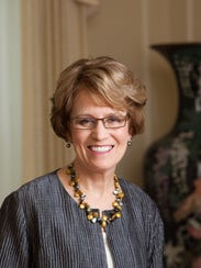 University of Michigan President Mary Sue Coleman