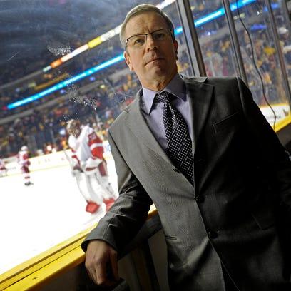 Minnesota Wild hire Predators' Paul Fenton as general manager