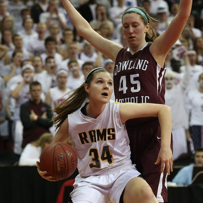 Annie Penquite of Southeast Polk and Dowling Catholic's