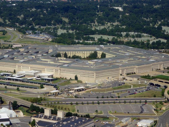 US-MILITARY-PENTAGON-AERIAL